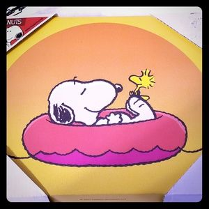 New Snoopy Canvas Picture